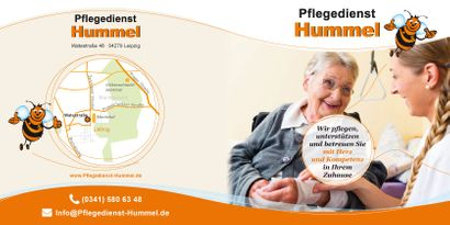 Flyer - Pflegedienst Hummel